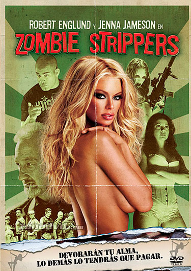 zombie strippers poster