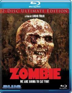 Últimos lanzamientos del sello Blue Underground zombie