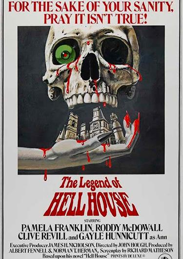 la leyenda de la casa del infierno poster