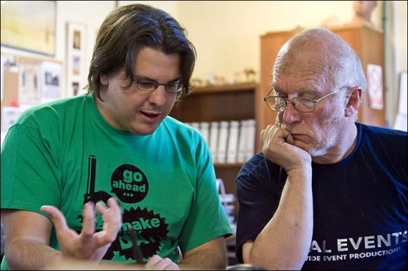 Raúl Cerezo y Colin Arthur