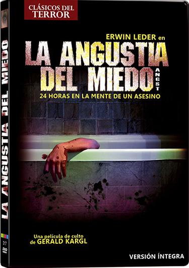 La angustia del miedo dvd