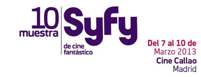 muestra syfy 2013
