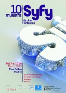 SYFY 10MUESTRA poster