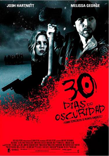 30 dias de oscuridad cartel
