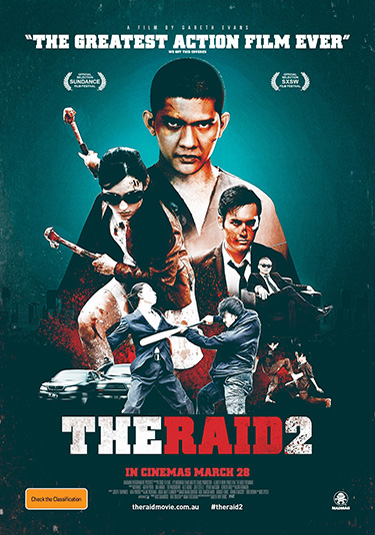 The Raid 2 póster the raid